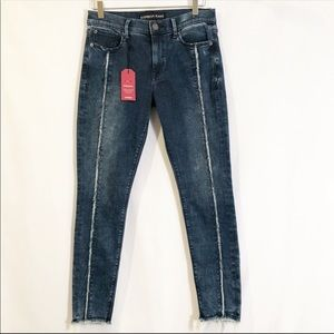 Express High Rise Ankle Jean